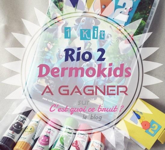 Les sticks Dermokids sous le soleil de Rio 2