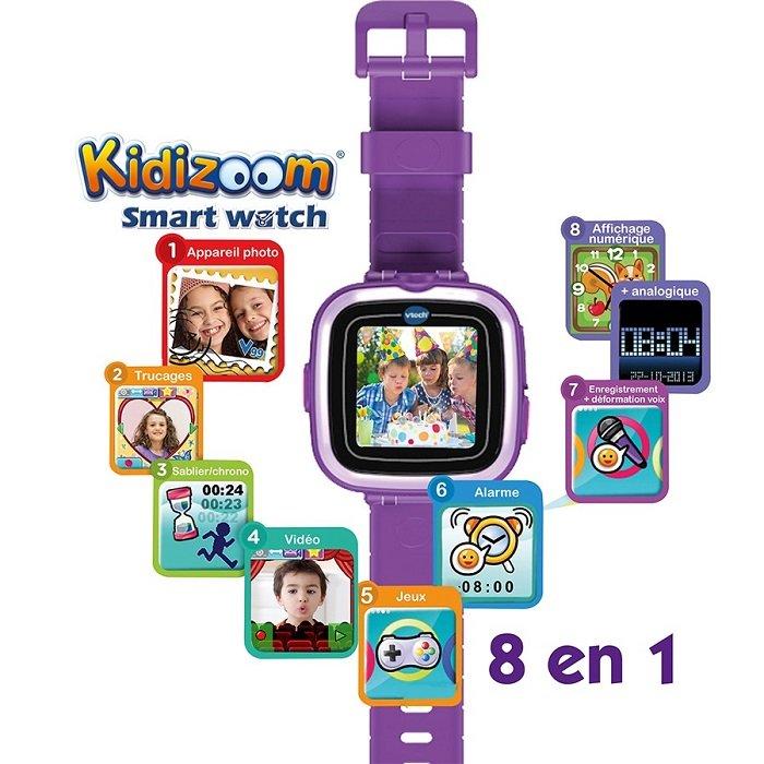 Kidizoom Smart Watch, la montre 8 en 1 de VTech