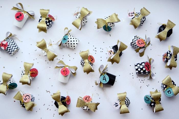 5 superbes calendriers de l'Avent (DIY) minireyve