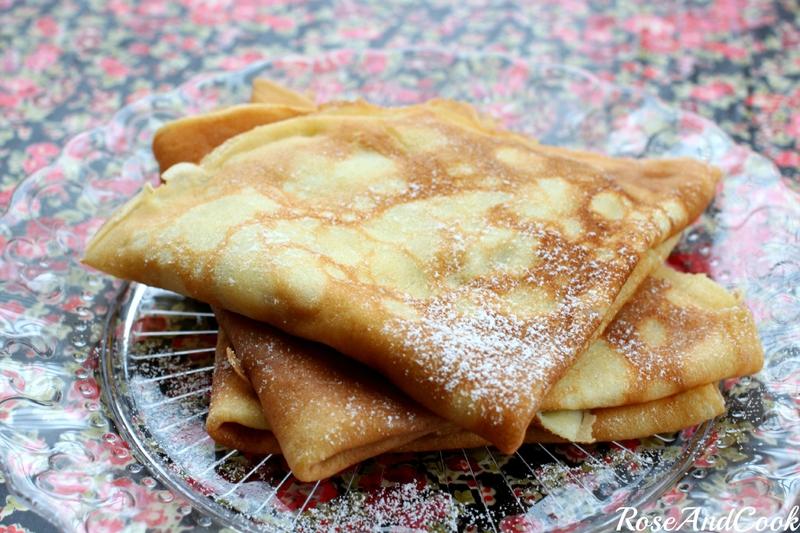 5 recettes de crêpes pour la Chandeleur : crêpes traditionnelles de roseandcook