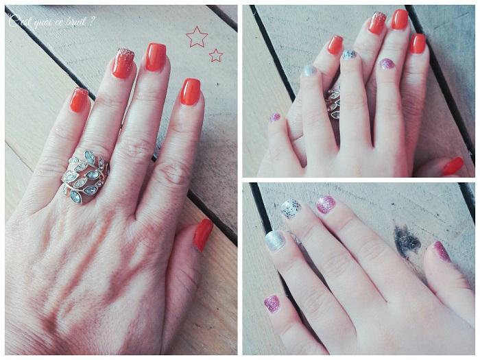 Montre-moi tes ongles : paillettes (janvier)