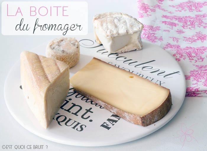 Box gourmande : La boîte du fromager (avis)