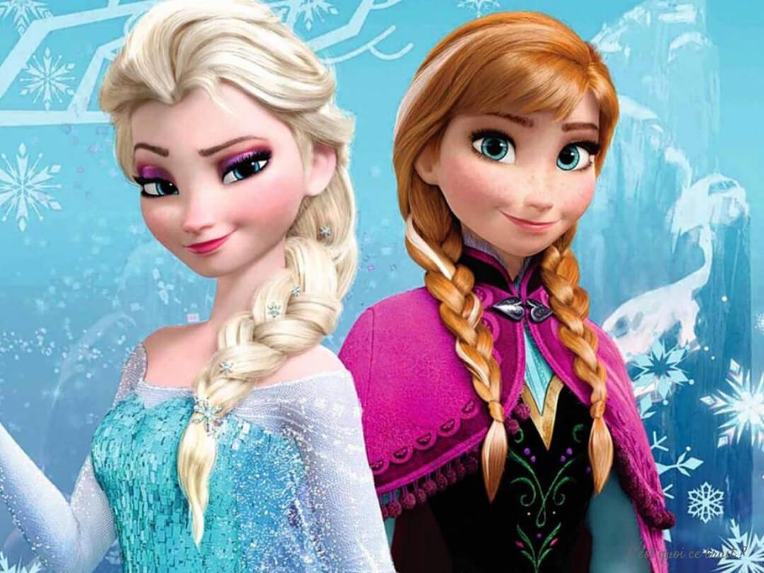 Coloriages Disney La reine des neiges à imprimer gratuitement