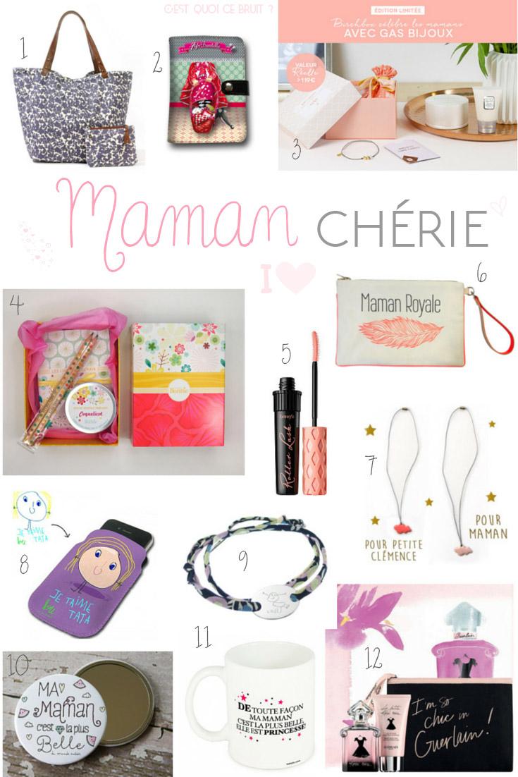 Qu'offre-t-on a une maman ? Wishlist fête des mères 2015
