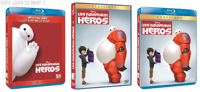 Les nouveaux héros de Disney, sortie DVD