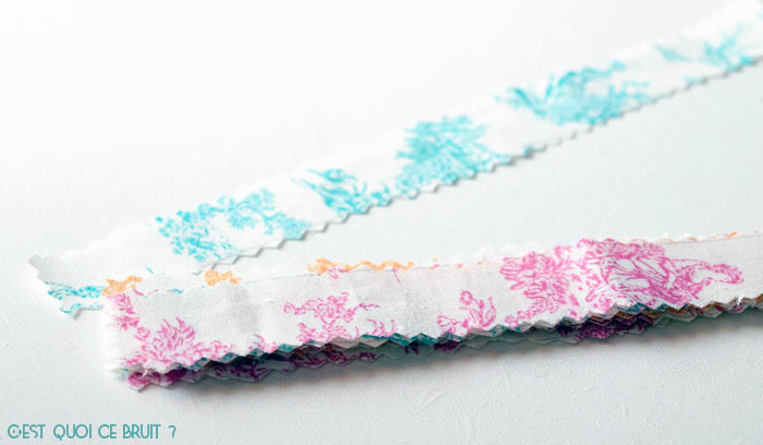 DIY fabriquer un porte-clés en tissu facilement