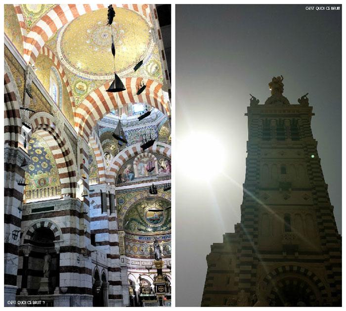 Visite de Notre Dame de La Garde à Marseille