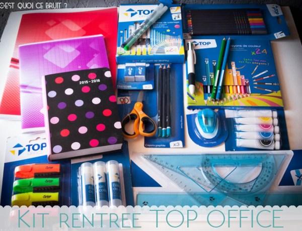 Préparer la rentrée scolaire avec les fournitures Top Office