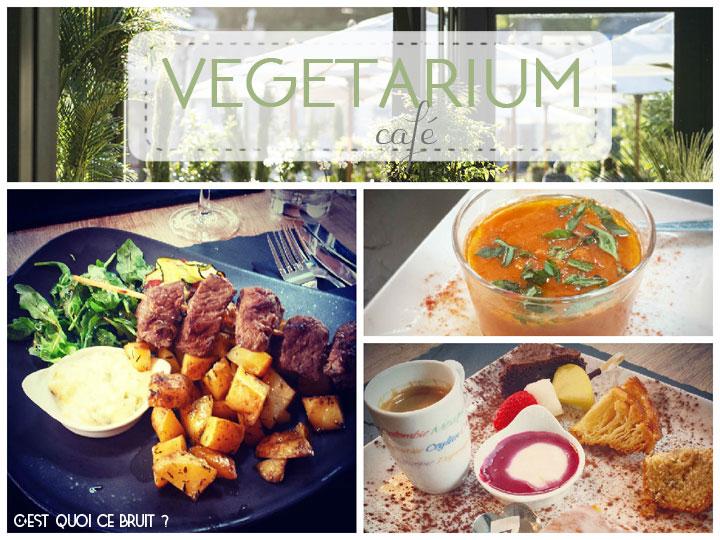 Déjeuner au Végétarium Café de La Grée des Landes à La Gacilly