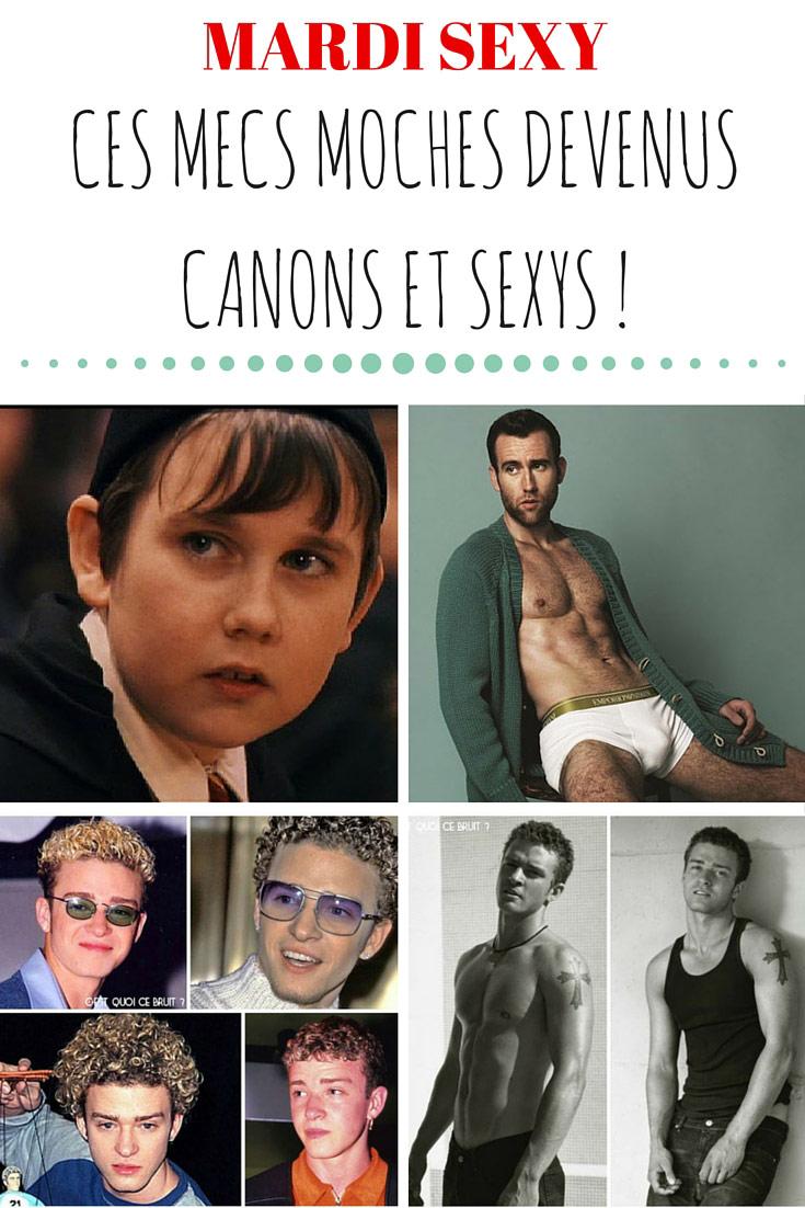 Ces mecs moches devenus canons et sexys