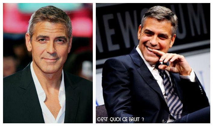 George Clooney, moche enfant et sexy adulte