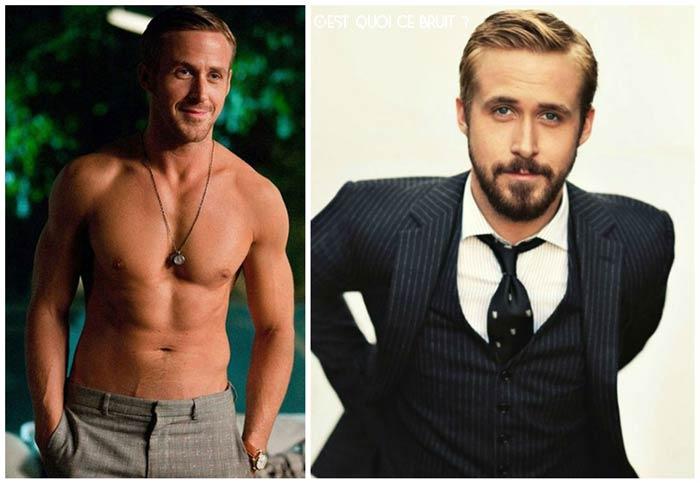Ryan Gosling, le mec moche devenu canon et sexy