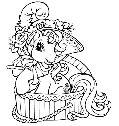 Coloriage à imprimer My little pony