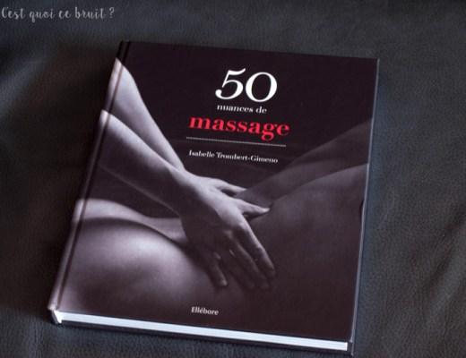 50 nuances de massage érotique, beau livre à s'offrir