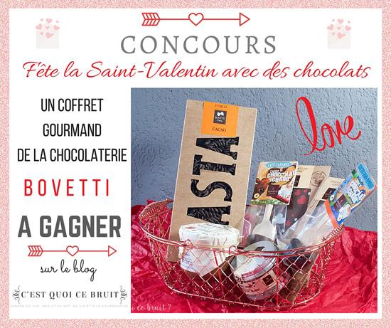 Saint-Valentin gourmande avec la chocolaterie Bovetti