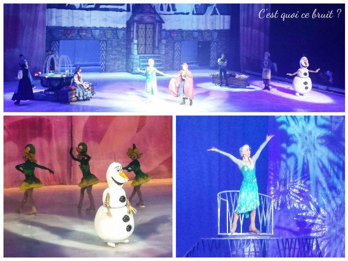 Disney sur glace 2016, les mondes féériques, La reine des neiges