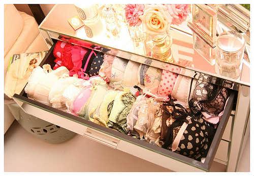 Astuces pour ranger ses tiroirs de lingerie
