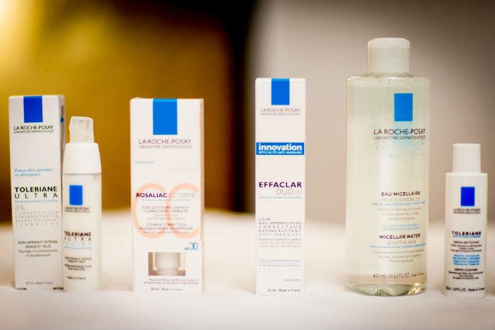 En apprendre plus sur la peau avec La Roche-Posay et les SkinMasterClass : les produits