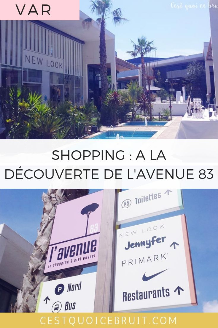 L'Avenue 83, l'adresse pour le shopping varois et Primark Toulon #var #toulon #shopping #fashion
