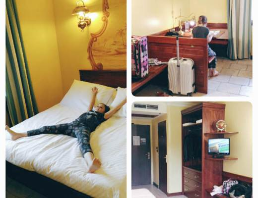 On a testé l'Hôtel des Pirates de Nigloland : la chambre