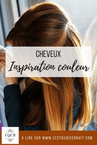 Beauté cheveux : inspiration couleur ombre hair à lire sur C'est quoi ce bruit ? #ombrehair #ombre #cheveux