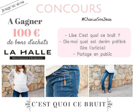 Concours La Halle C'est quoi ce bruit #chacunsonjean