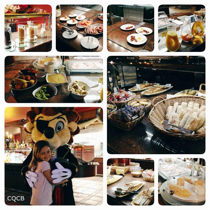 On a testé l'Hôtel des Pirates de Nigloland : le petit déjeuner avec Niglo
