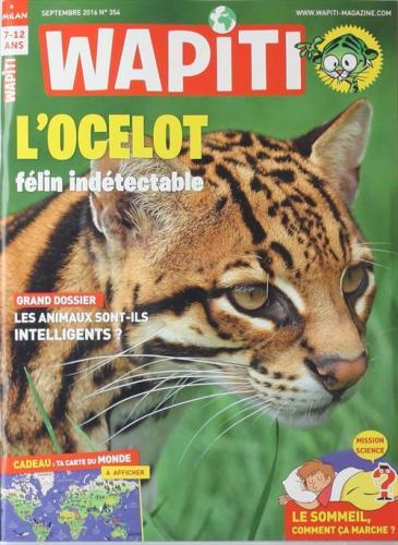 Magazine pour enfant : Wapiti