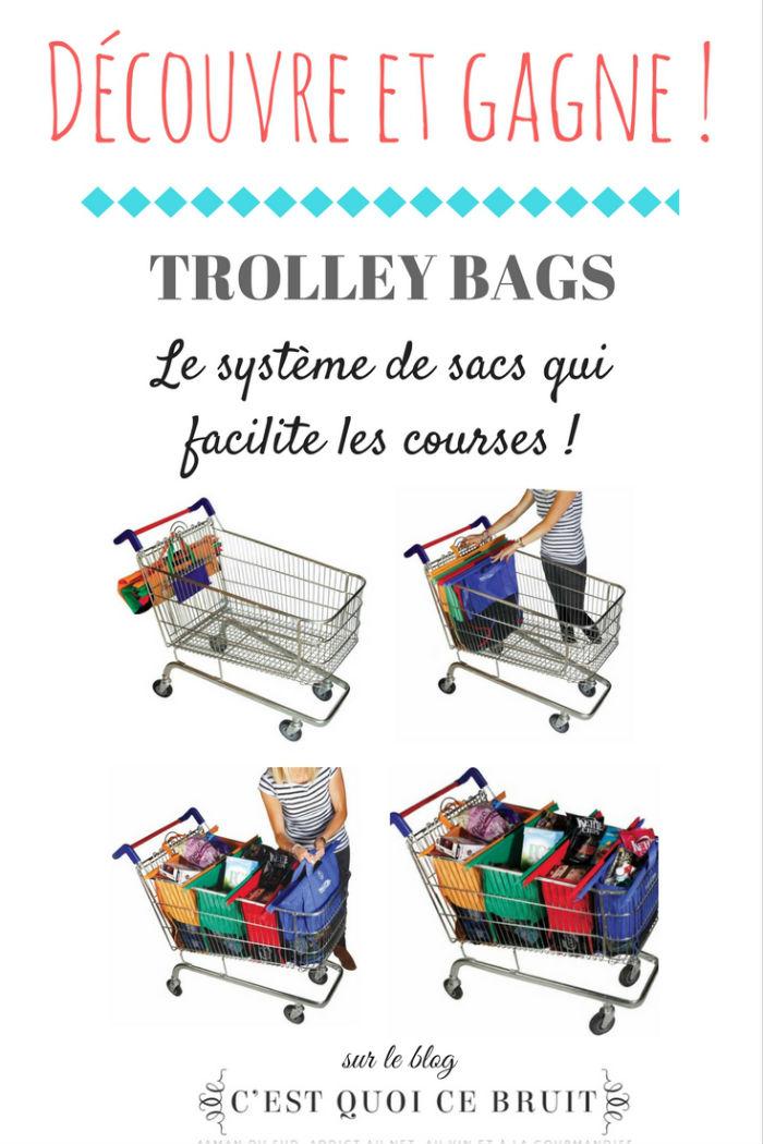trolley bags pour faire ses courses plus rapidement