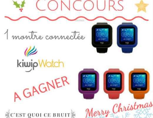 Kiwip Watch la montre connectée pour les enfants