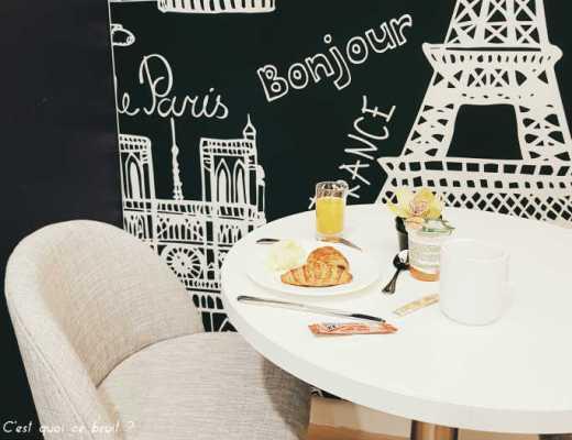 Une nuit à l'hôtel Citadines Montmartre Paris