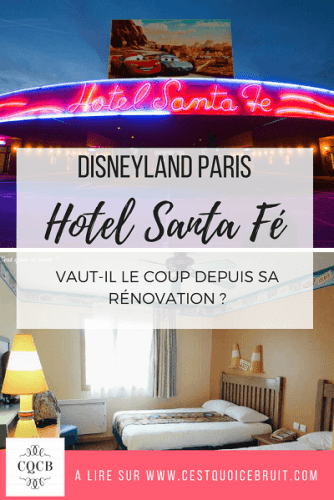 Dormir à Disneyland Paris : l'hôtel Santa Fe. A retrouver sur https://cestquoicebruit.com/voyage/disney-hotel-santa-fe-avis-famille/