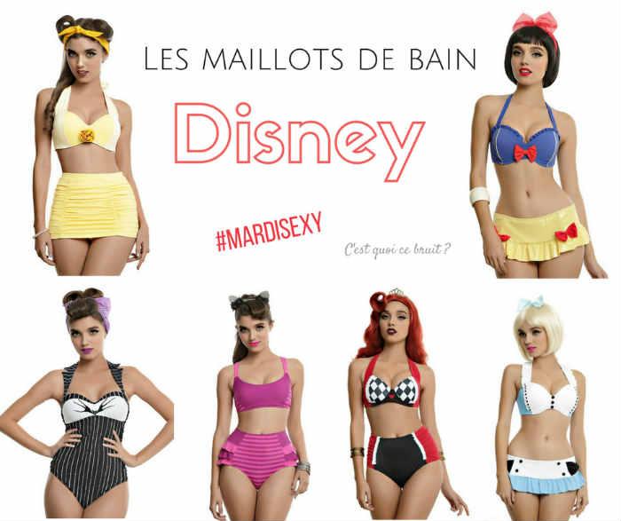Peut-on être sexy avec un maillot de bain Disney ?
