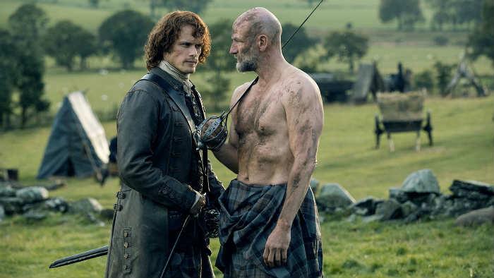 Mater de l'écossais sexy avec Outlander