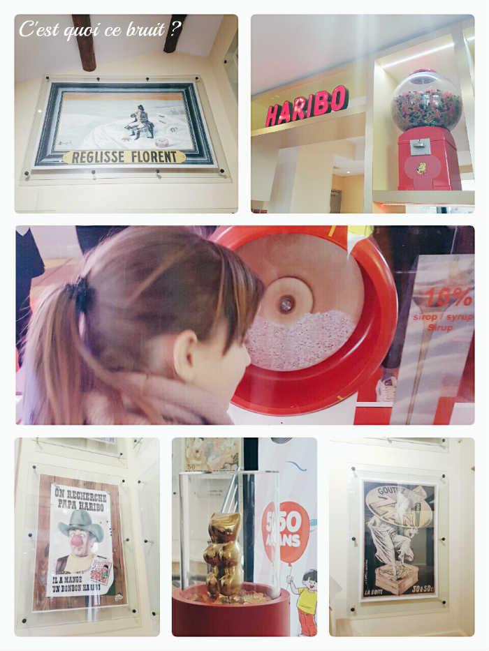 Visite du musée Haribo Uzès en famille