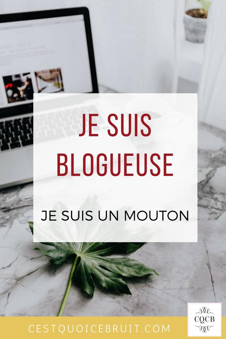 Je suis une blogueuse, je suis un mouton #blogging #blogosphère #blogueuse #humour #blog #blogger #bloggingtips