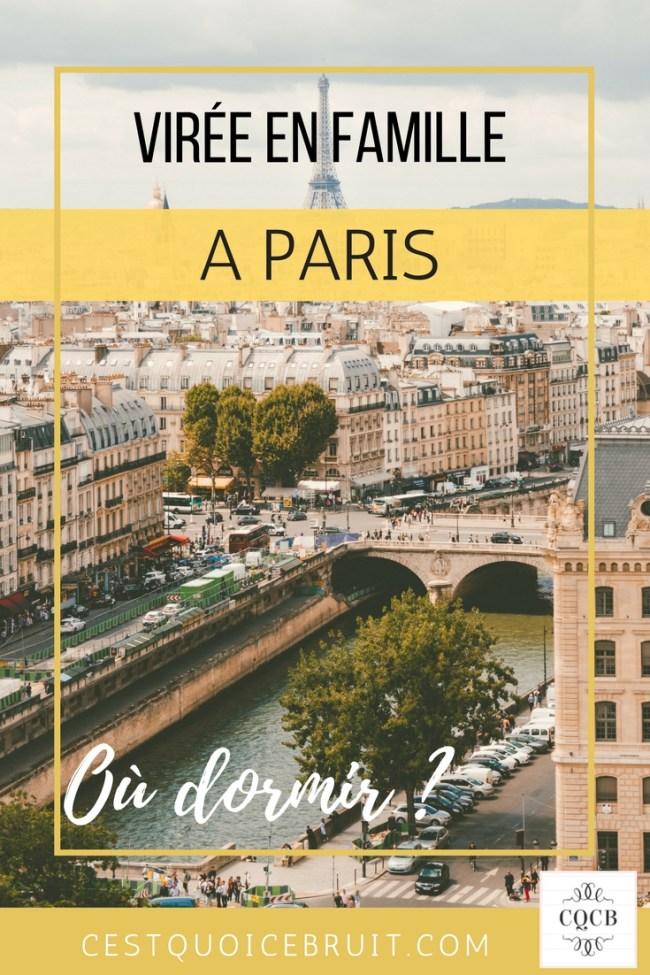 Où dormir en famille à Paris près de Notre-Dame ? #hotel #paris #notredame #voyage #france #travelwithkids