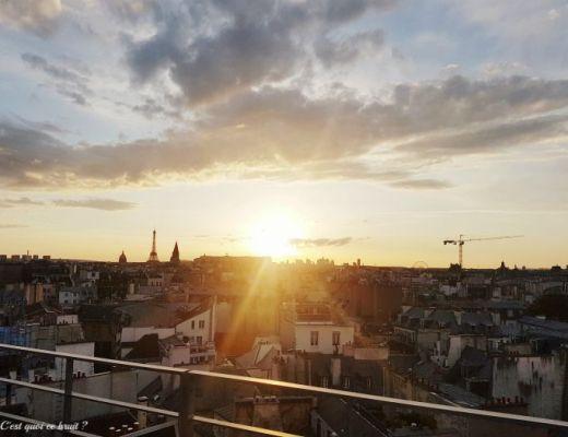Vue du rooftop de l'hôtel Holidya Inn Notre Dame à Paris IHGinfluencer