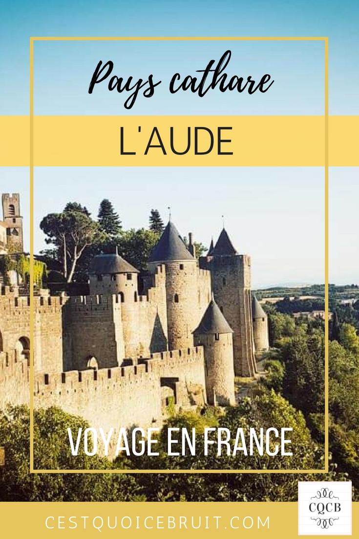 Partir dans l'Aude en France, que visiter ? où manger ? où dormir ? #blogtrip #voyage #france #travel #aude #blogvoyage