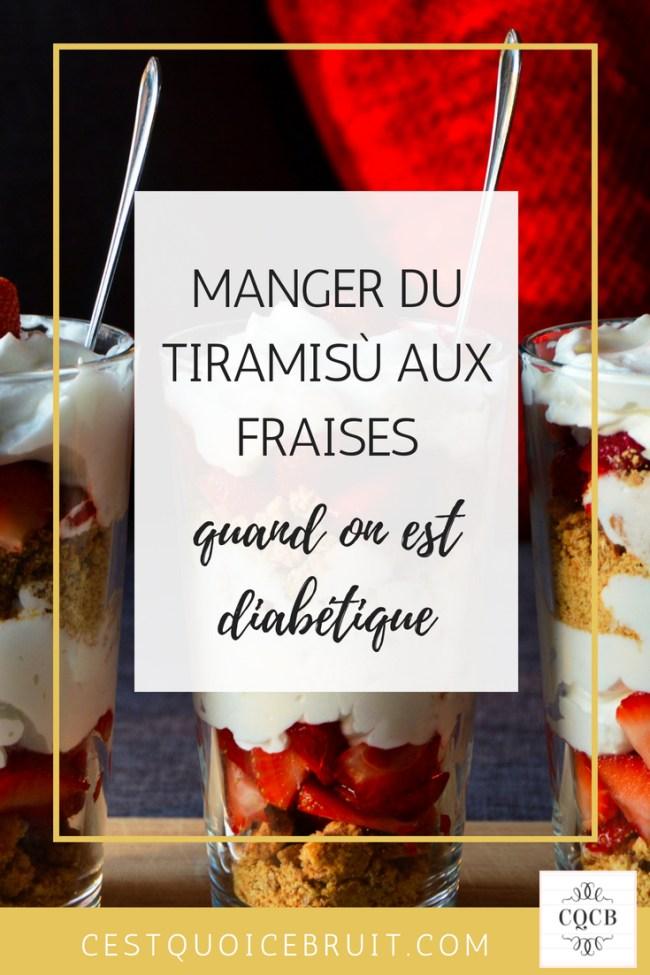 Recette tiramiu fraises #recette #recipe #diabète #fraises #tiramisù #dessert