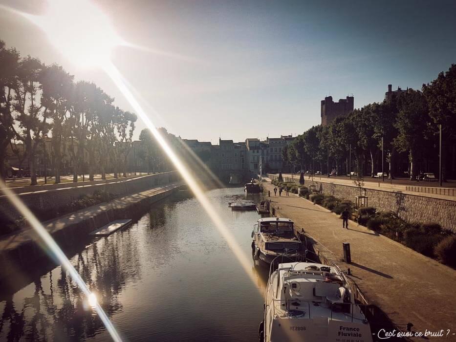 Blogtrip dans l'Aude : Narbonne et le Canal de la Robine