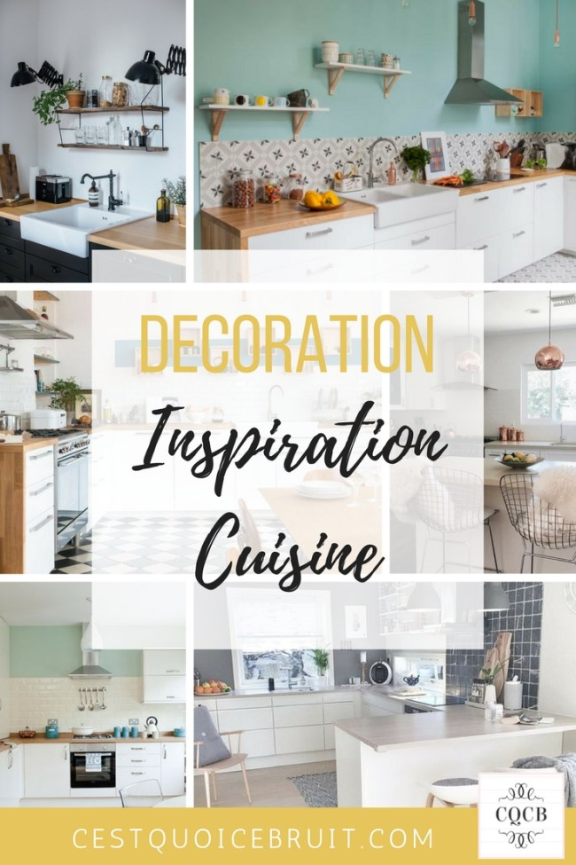 Inspiration décoration : la cuisine scandinave #décoration #cuisine #scandinave #home #homedecor