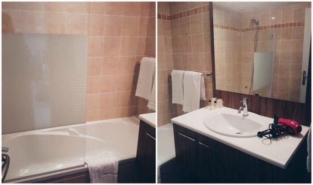 Domaine de la Camiole, salle de bain