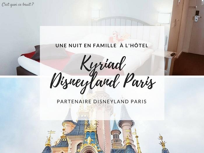 Nuit en famille au Kyriad Disneyland Paris