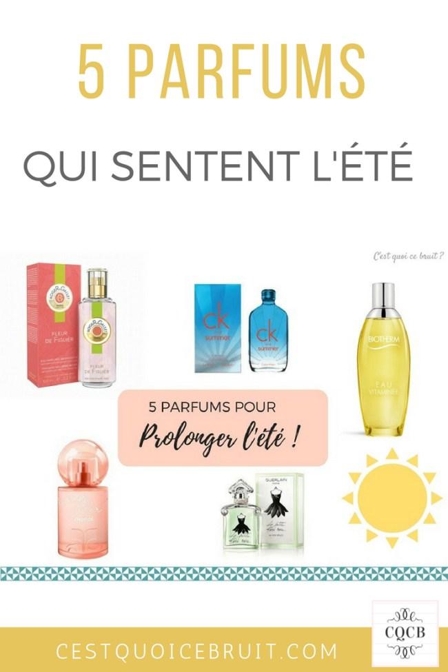 Parfums qui sentent l'été #parfum #été