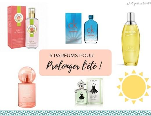 5 parfums pour prolonger l'été
