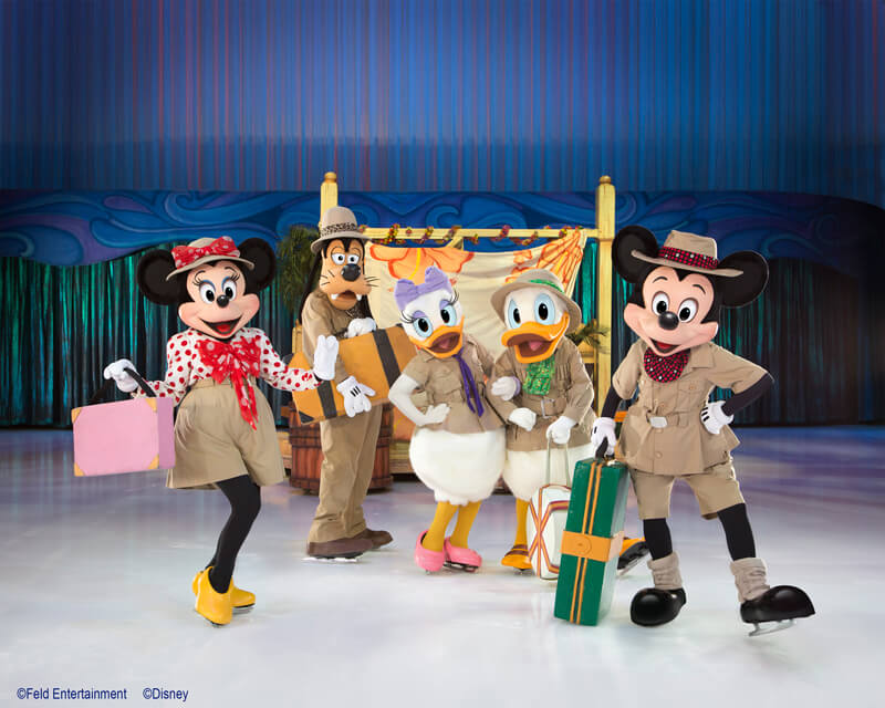 Disney sur glace Le voyage imaginaire