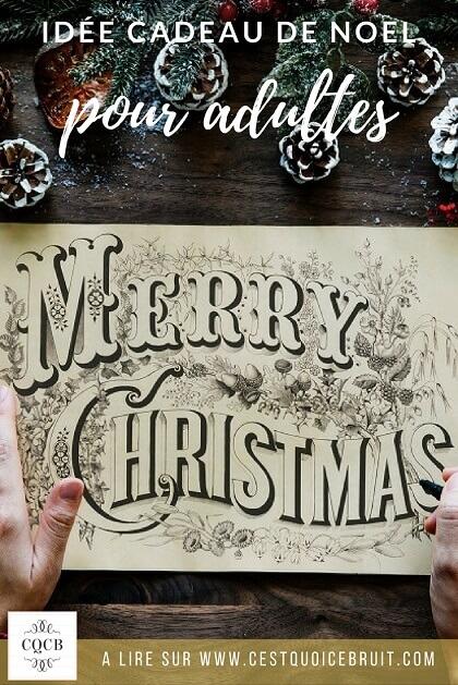 Idées de cadeau de Noël pour les adultes : et si on offrait un coffret cadeau Wonderbox