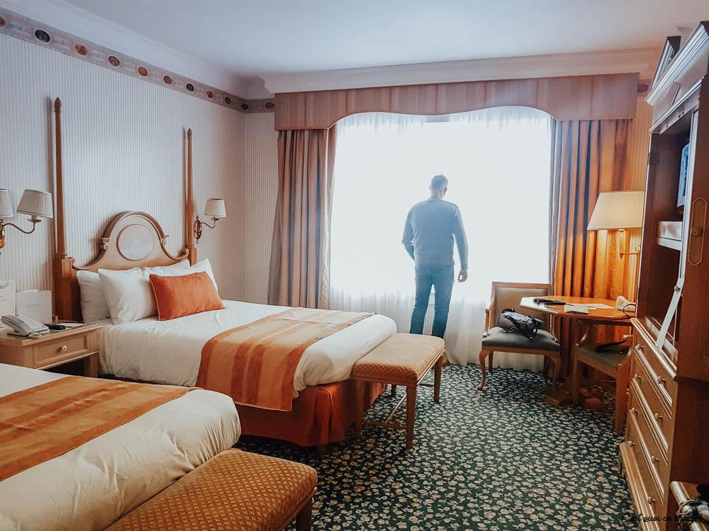 Disneyland Hotel chambre classique