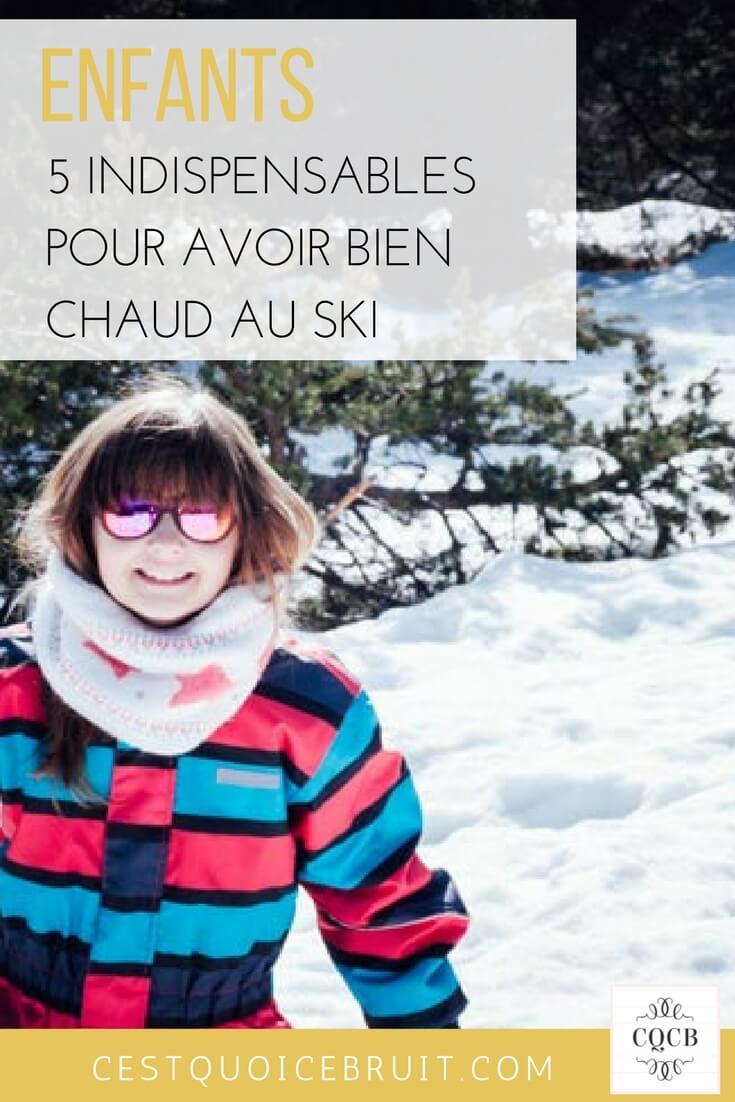 Enfants 5 indispensables pour avoir chaud au ski #famille #enfants #kids #montagne #travel #ski